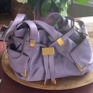 Michael Kors lavender handbag